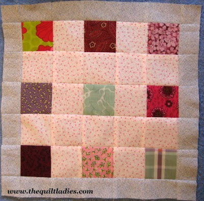 The Quilt Ladies Fifty-Two Weeks of Quilt Pattern Blocks, Week 32