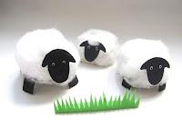 egg carton sheep