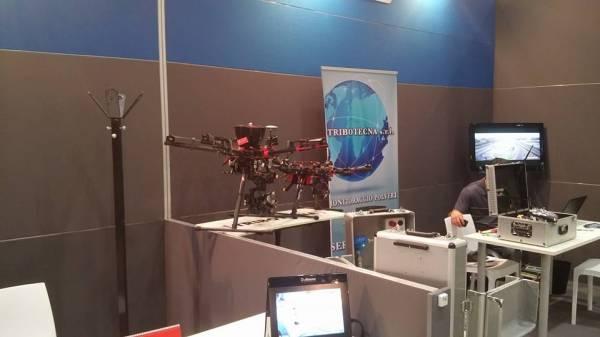 Un drone per il monitoraggio delle polveri