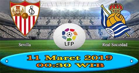 Prediksi Bola855 Sevilla vs Real Sociedad 11 Maret 2019