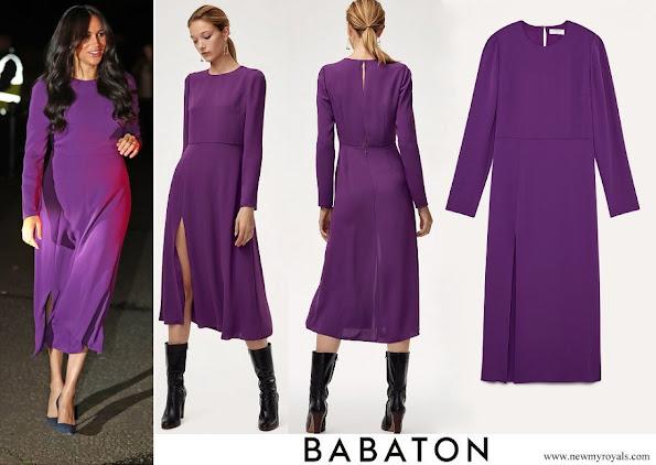 Meghan Markle wore Aritzia Babaton Maxwell midi Dress