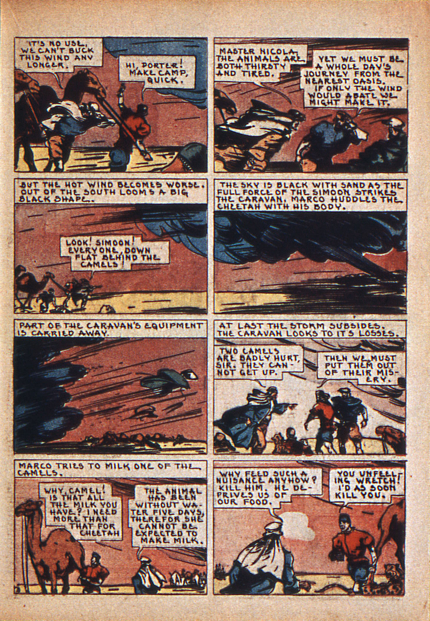 Read online Action Comics (1938) comic -  Issue #12 - 32