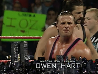 WWF / WWE SURVIVOR SERIES 1996: The Legendary Owen Hart was in tonight's opening match