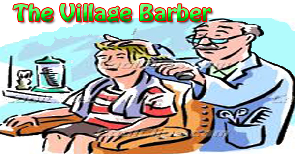the village barber essay in english hania naz grammar the best cover the village barber