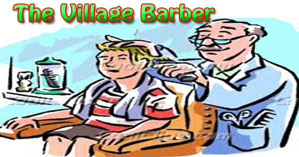 the village barber essay in english hania naz grammar