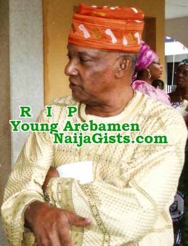 young arebamen dead