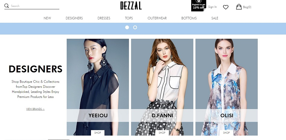 DEZZAL. New Designer Store.