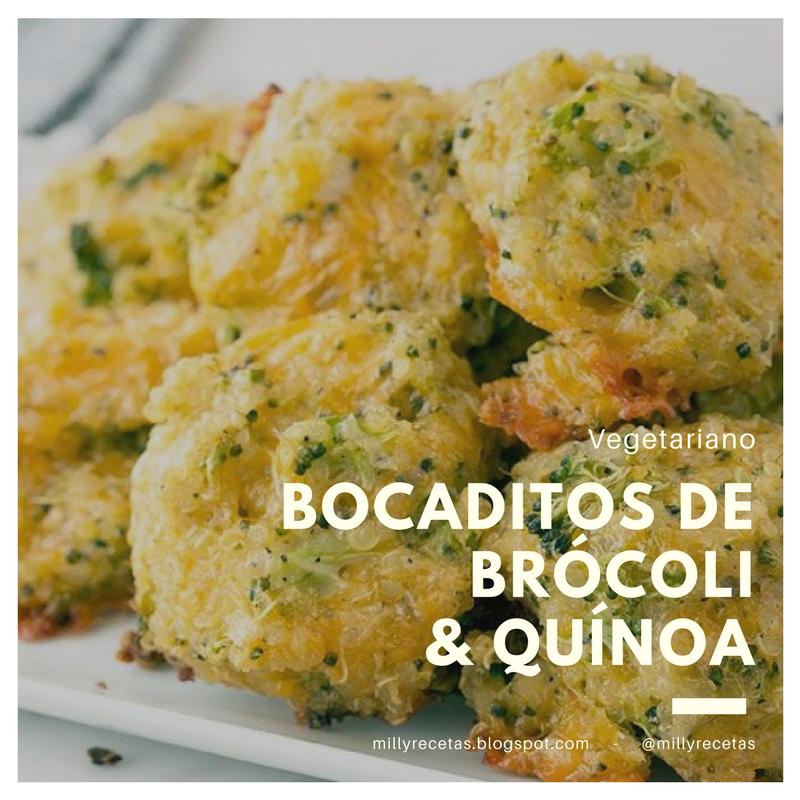 Bocaditos de Brócoli y Quínoa