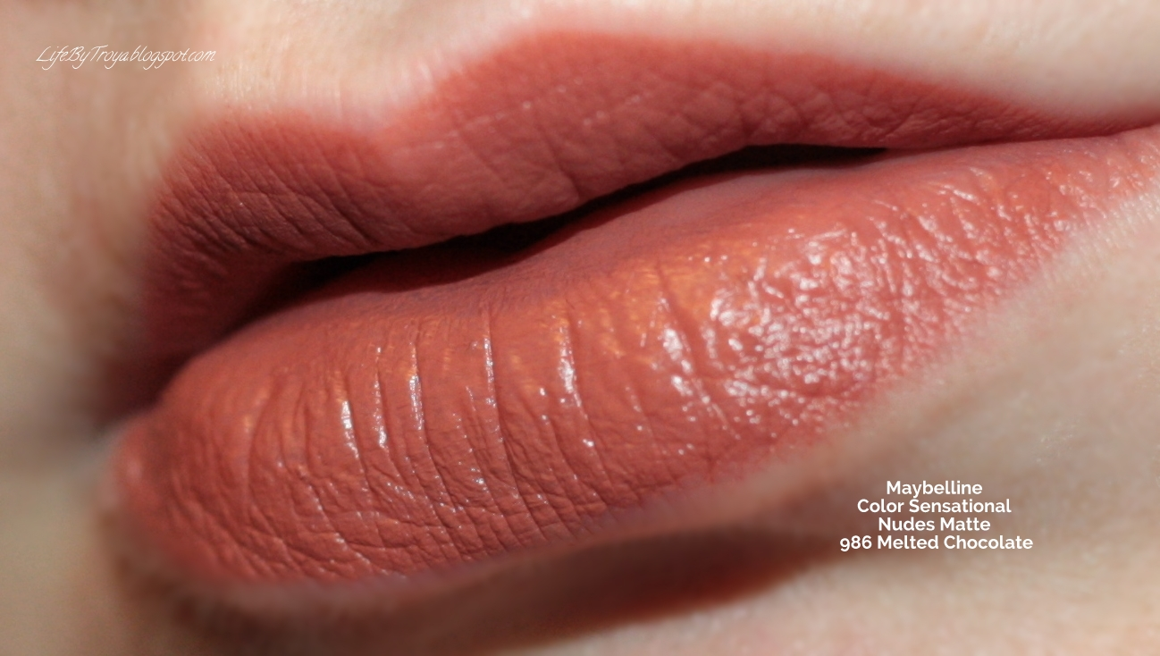 Review Maybelline Color Sensational Nudes Creamy Matte Lipsticks