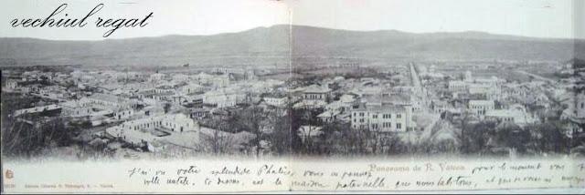 Panorama a Ramnicului de pe Dealul Capela