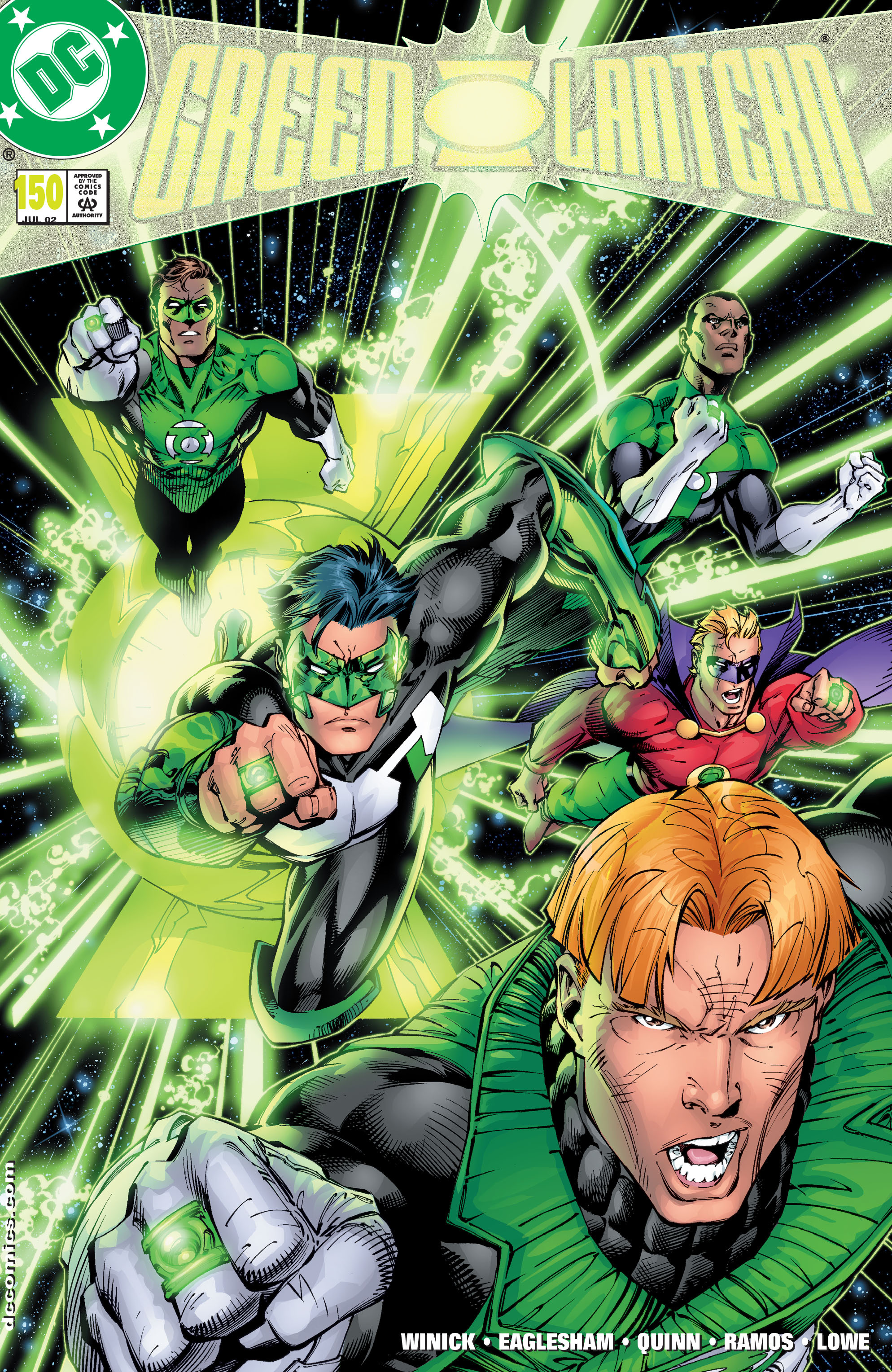 Green Lantern (1990) 150 Page 1