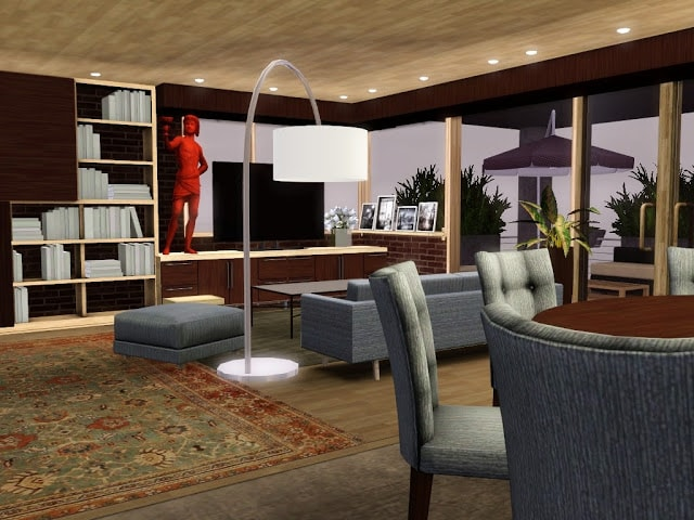 séjour design sims 3