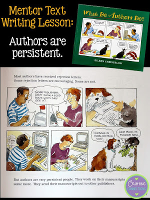 """Looking for a mentor text to use in a writing lesson for upper elementary students? This text can be used as a foundation to stress tons of truths about how """"real"""" authors write. Includes a free printable!"""