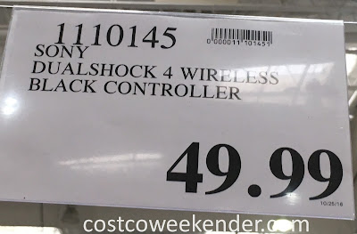 Deal for the Sony PS4 Dualshock 4 Wireless Controller at Costco