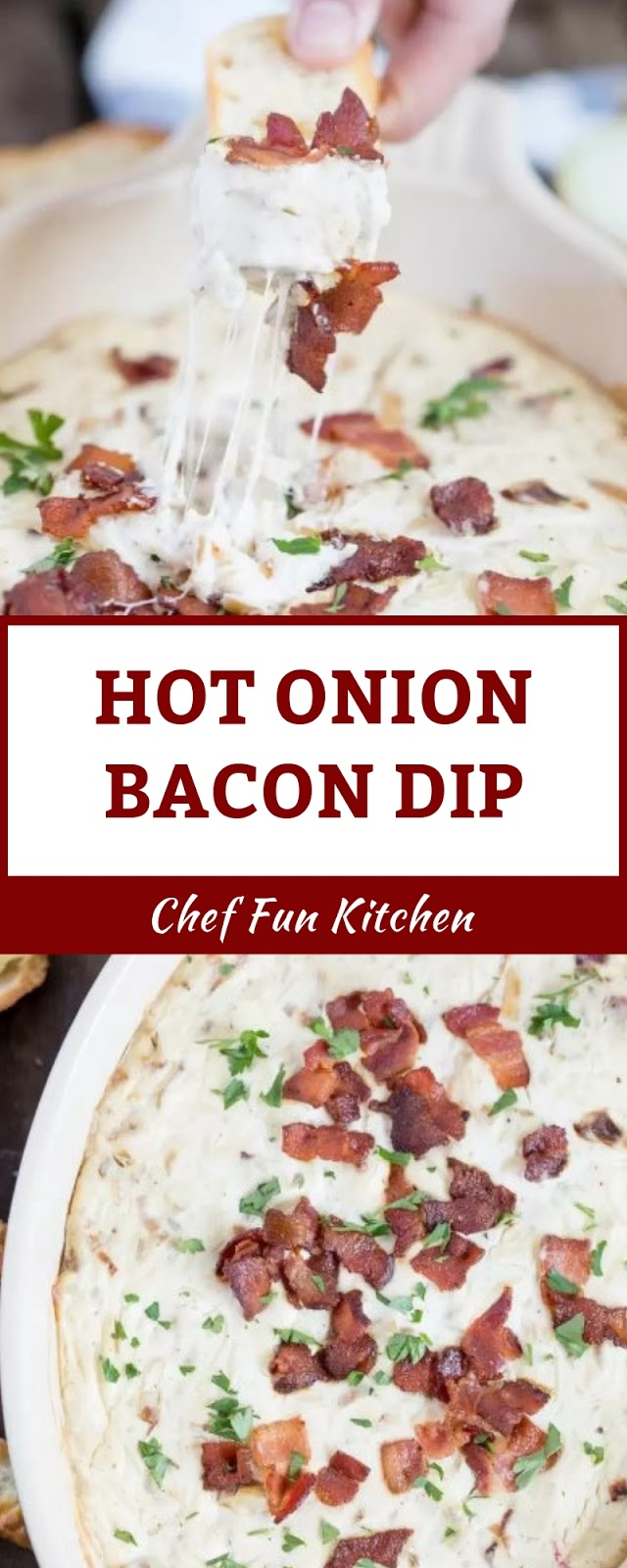 HOT ONION BACON DIP