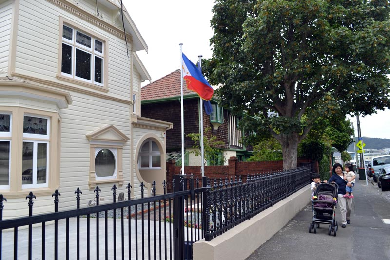 nickballesteros com: A visit to the Philippine Embassy in