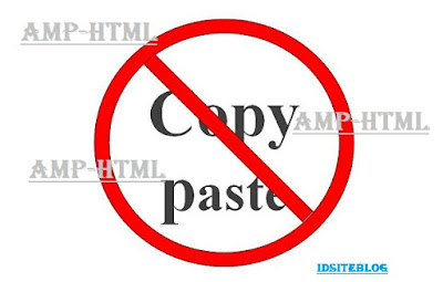 CSS Anti Copas Untuk Blog AMP HTML