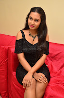 South Actress Amulya in short black dress at Kalamandir Foundation 7th anniversary Celebrations ~  Actress Galleries 046.JPG