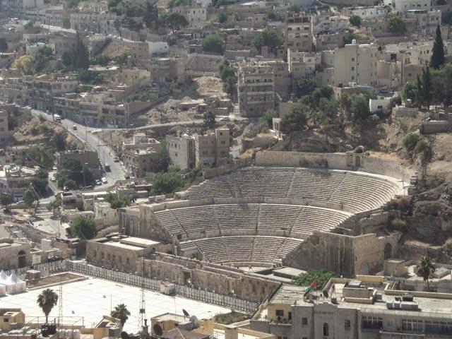 The ancient city of Jerash - Jordan