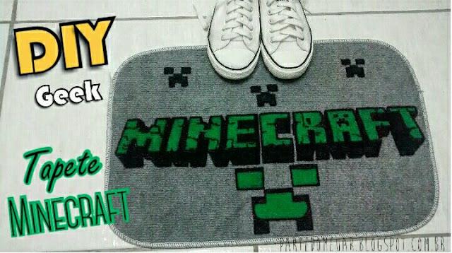 diy tapete minecraft