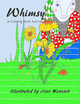 Whimsy: a coloring book journal for adults