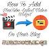Blog Me YouTube Latest Video Widget Kaise Lagaye