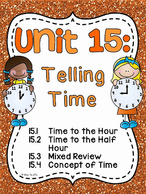 Time Worksheets time worksheets one hour later : Miss Giraffe's Class: Telling Time in First Grade