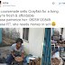 Young Nigerian female undergraduate sells crayfish for a living (photos)