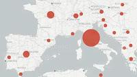 CoronaVirus: Mappa dei contagiati in Italia e nel mondo in tempo reale