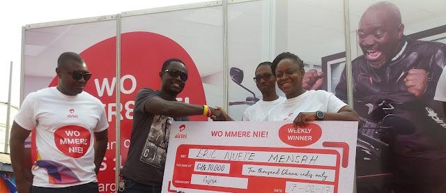 Airtel Lottery Winner 2018