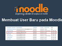 Membuat User Baru pada Moodle