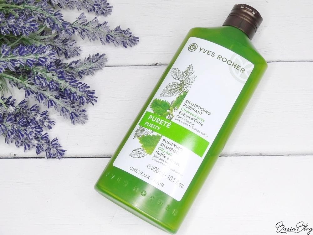 Yves Rocher Purifying szampon oczyszczający pokrzywowy recenzja