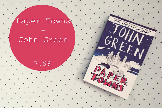 Summer Reading List- Paper Town Book Review