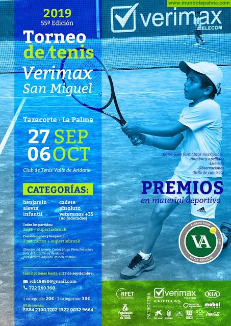 55º Edición Torneo de Tenis San Miguel