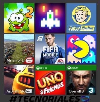 Juegos gratis Windows 10 parte 2