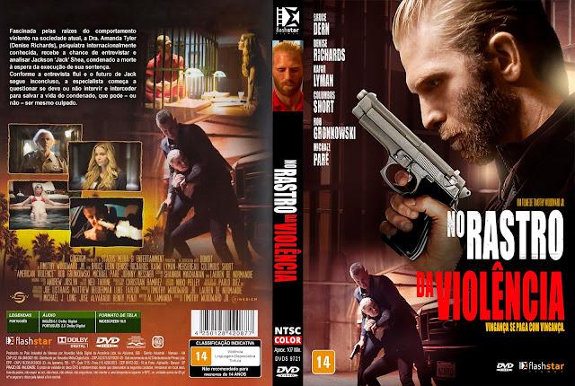 Capa DVD No Rastro da Violência [Custom]