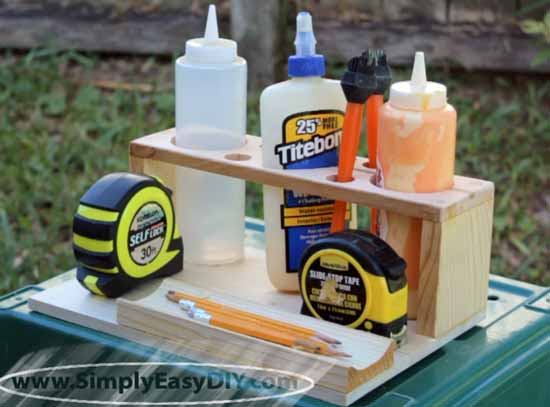 DIY Glue Caddy
