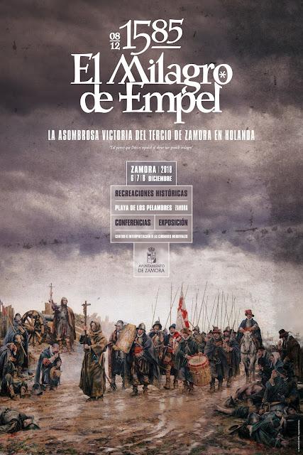 El Milagro de Empel. Recreación Zamora