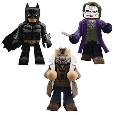 Batman: The Dark Knight Trilogy Vinimates Vinyl Figure Series by Diamond Select Toys