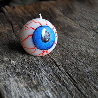 Eye Ball Candle