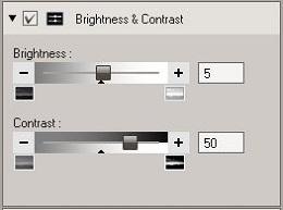 OV3 Brightness & Contrast tool
