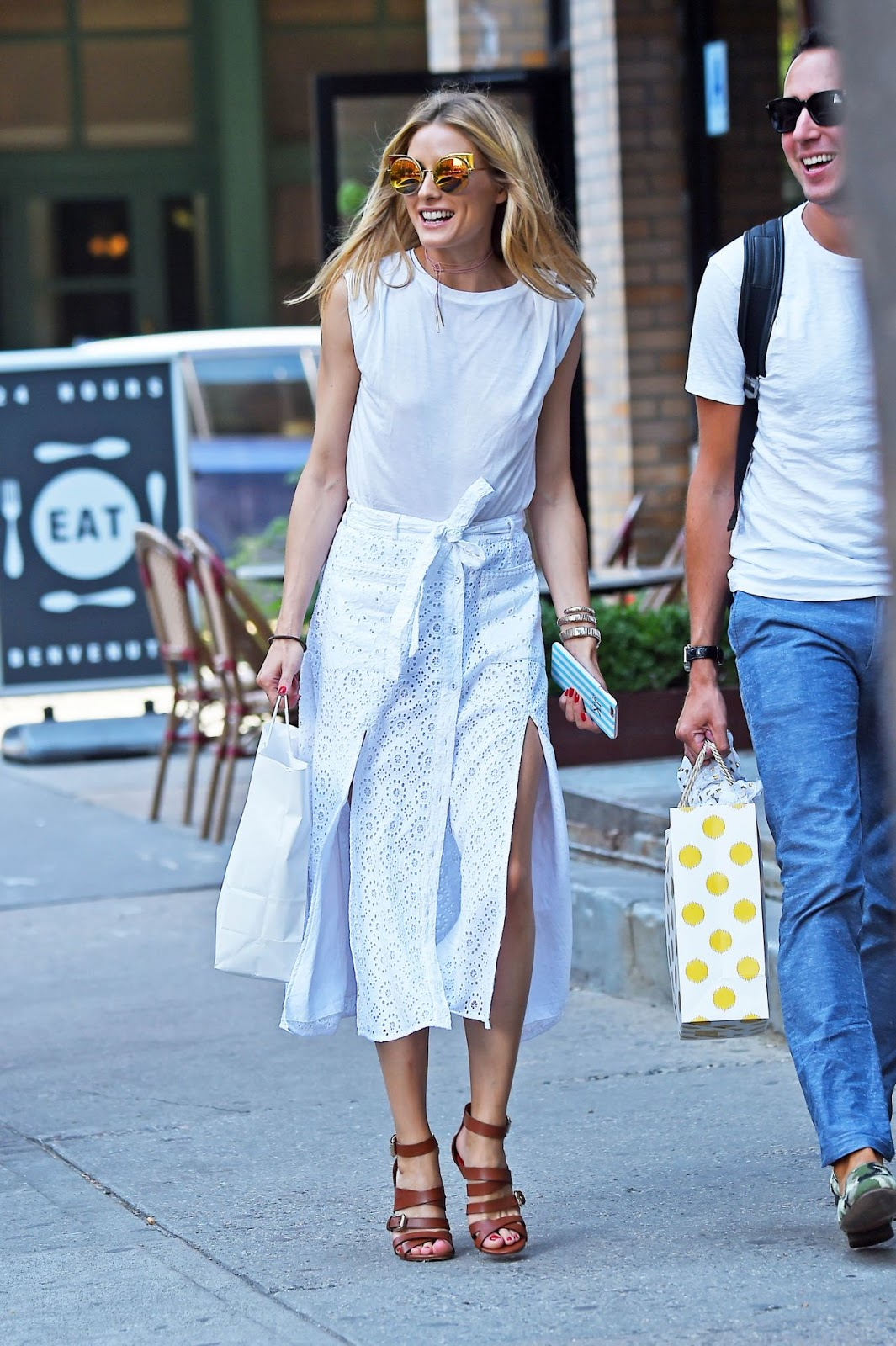 The Olivia Palermo Lookbook Olivia Palermo Spotted In New York City