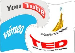 Various video provider logos