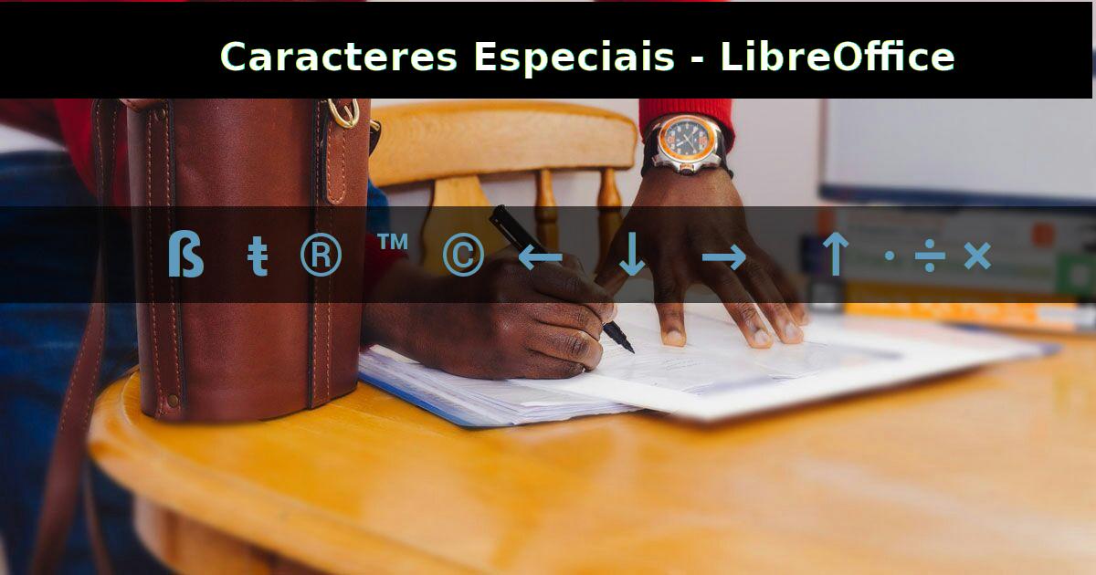 Inserindo Caracteres Especiais em Editores de Texto - Linux