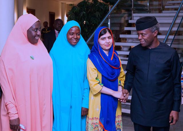 Malala-Yousafzai-visits-Osinbajo-2