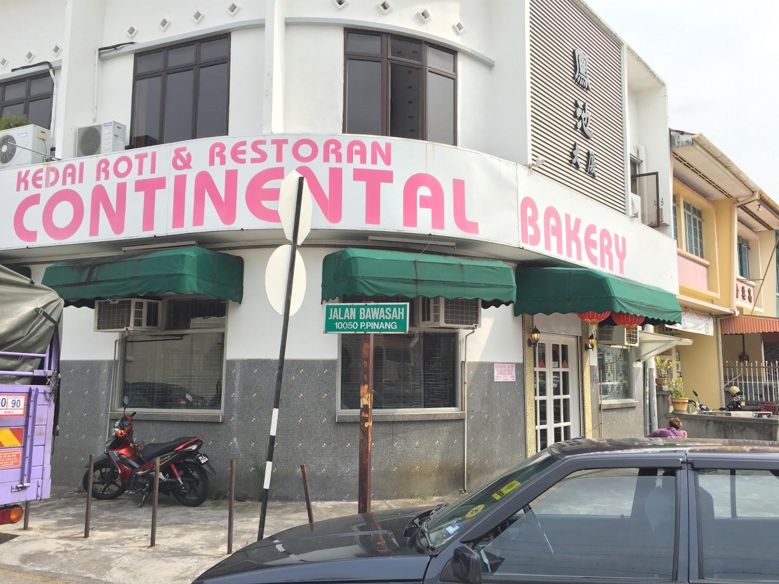 Penang Bakery - Kedai Roti & Restoran Continental Bakery