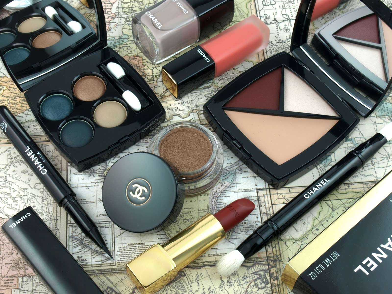 Chanel Fall 2017 Travel Diary Collection: Review and Swatches
