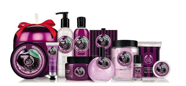The Body Shop Natale frosted plum