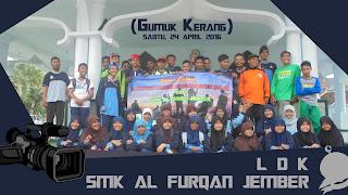 LDK SMK Al Furqan di Gumuk Kerang