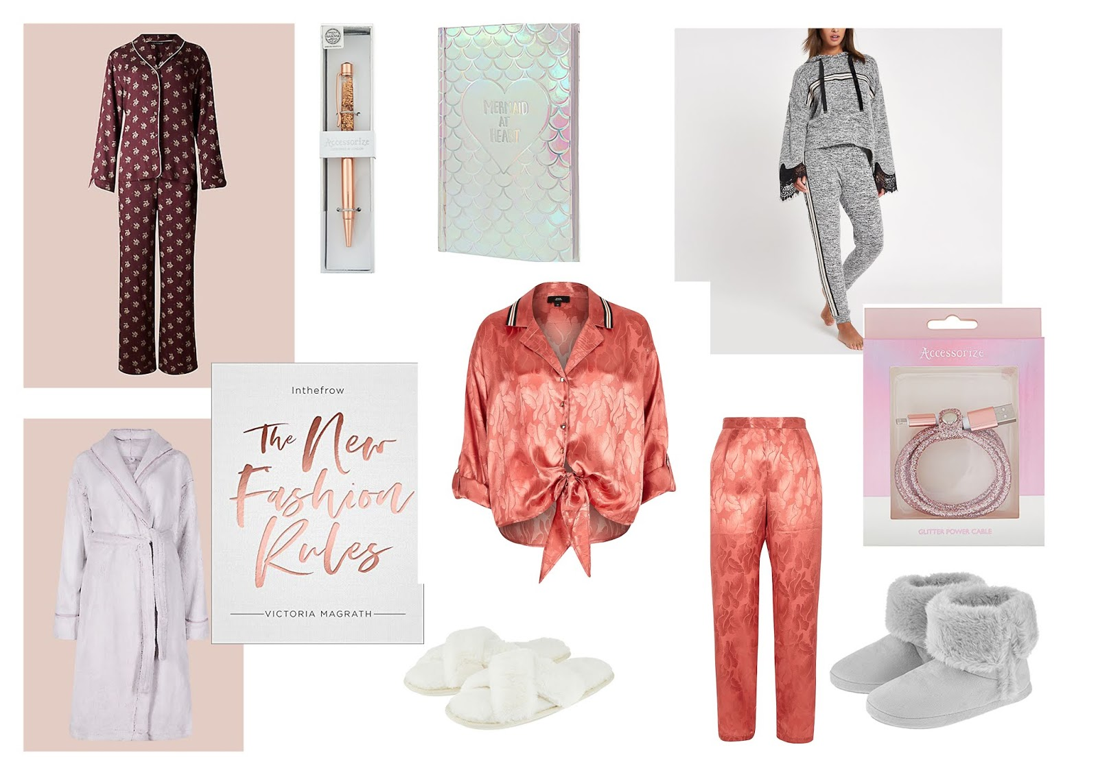 Christmas Gift Guide: Sleepwear, Stationery, Slippers, Books